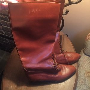 Saks Fifth Avenue Leather Boots